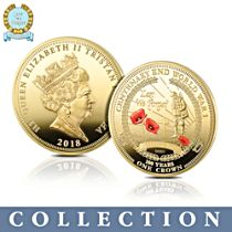 The Official Lest We Forget Armistice Centenary Crown Collection