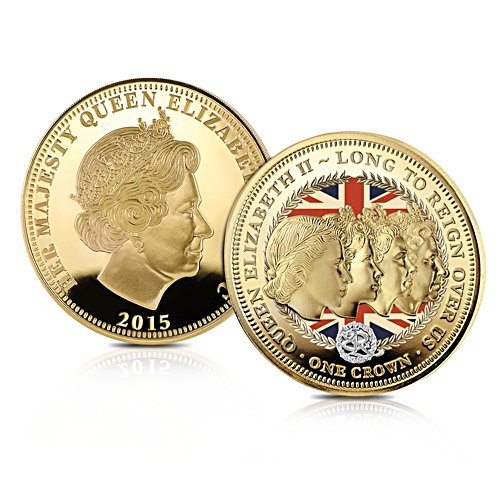 'Long To Reign Over Us' 90th Birthday Crown Coin