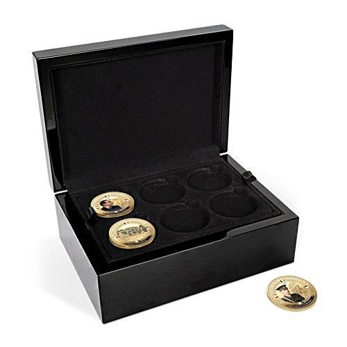 'Deluxe 18 Coin Presentation Case'