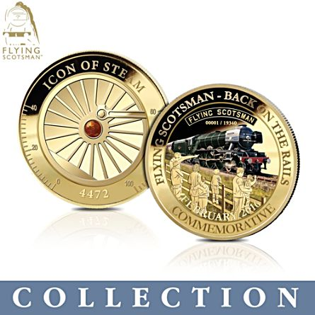Flying Scotsman 'Icon Of Steam' Commemorative Collection