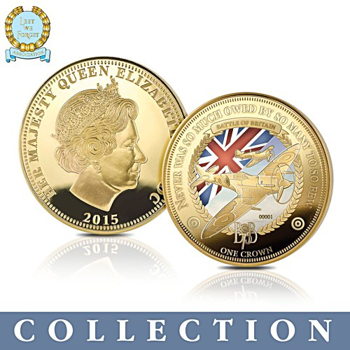 'The Battle Of Britain' 75th Anniversary Crown Collection