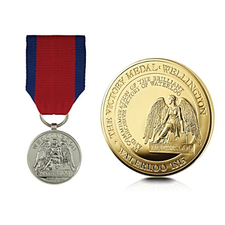 The waterloo victory medal crown coin set the waterloo victory medal crown coin set spiritdancerdesigns Gallery