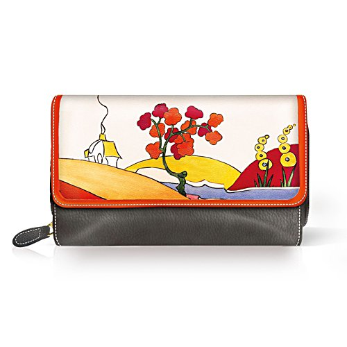Clarice Cliff-Inspired Art-Deco Purse