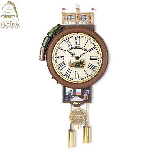 Flying Scotsman Station Clock