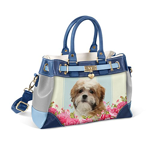 Shih Tzu 'Playful Pup' Ladies' Handbag