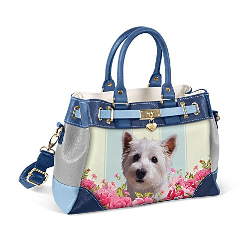 Westie 'Playful Pup' Ladies' Handbag