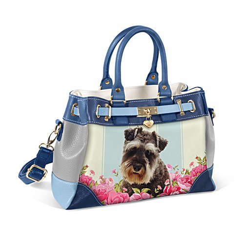Schnauzer 'Playful Pup' Ladies' Handbag