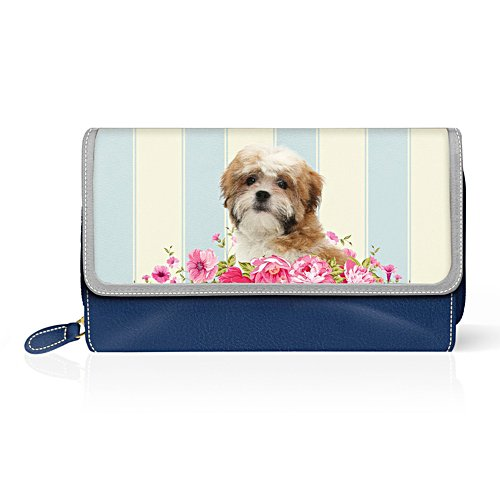 Shih Tzu 'Playful Pup' Ladies' Purse
