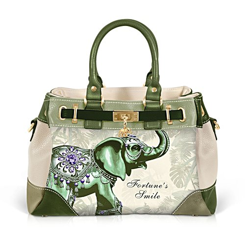 'Fortune's Smile' Elephant Handbag