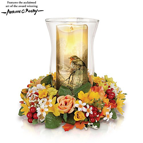 'Light Of Nature' Floral Centrepiece