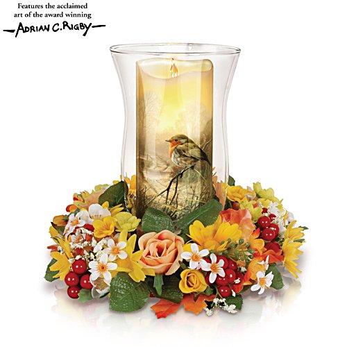 'Light Of Nature' Floral Centrepiece