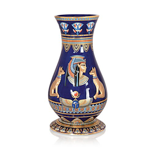 'Splendours Of Ancient Egypt' Ornamental Porcelain Vase