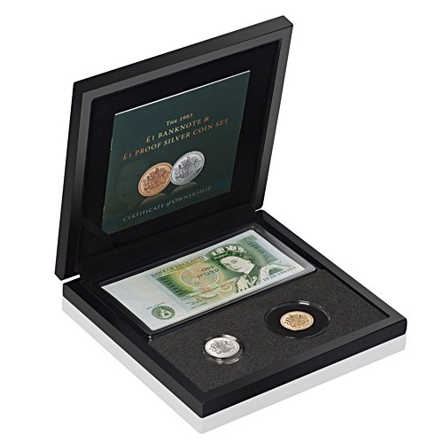 The Great Britain £1 Coin and Banknote Set