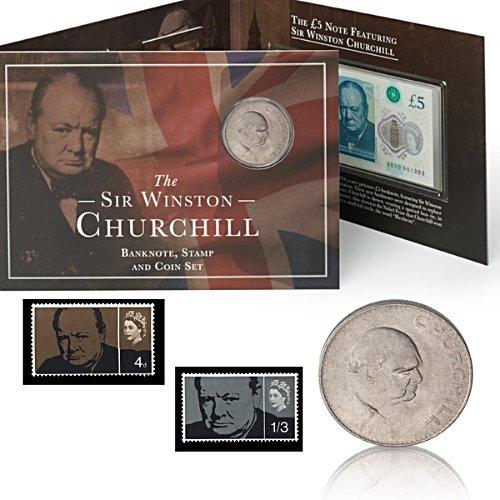 The Churchill Coin, Banknote and Stamp Set
