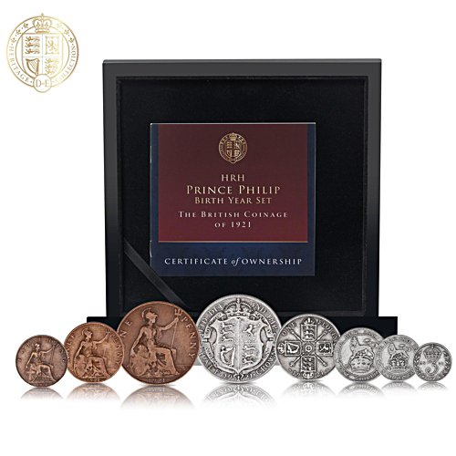 The Prince Philip Birth Year British Coin Set