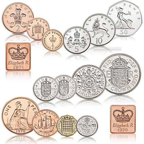 The 50th Anniversary of Decimal Changeover Proof Coin Set