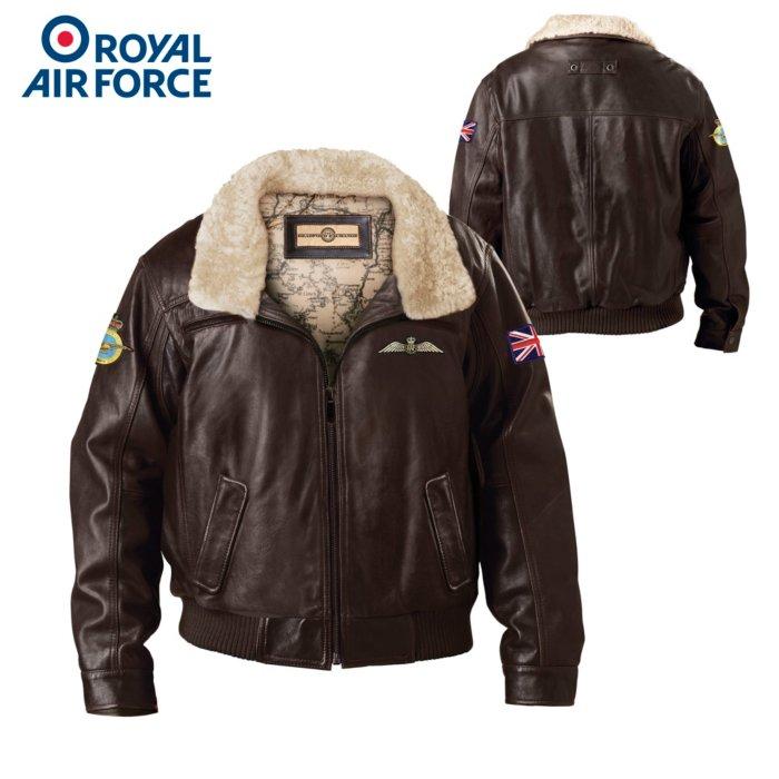 RAF Aviator Genuine Leather Men's Jacket