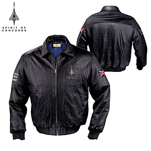 50th Anniversary 'Spirit Of Concorde' Men's Leather Jacket