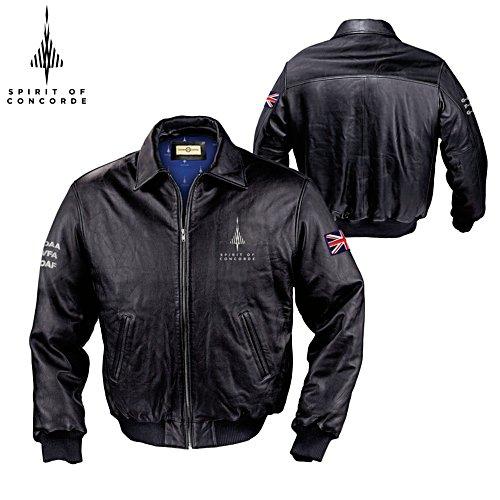 50th Anniversary 'Spirit Of Concorde' Men's Leather Jacket