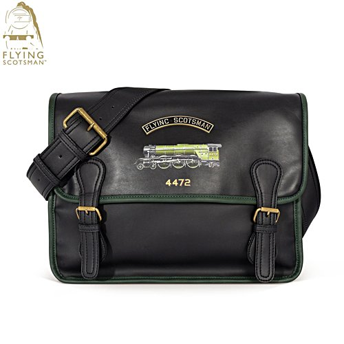 Flying Scotsman Gentlemen's Messenger Bag