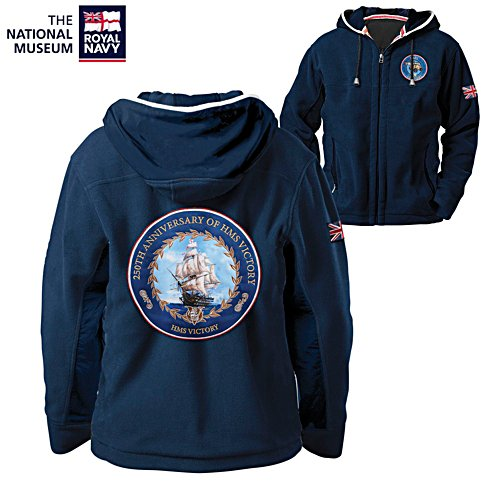 'HMS Victory' 250th Anniversary Men's Fleece