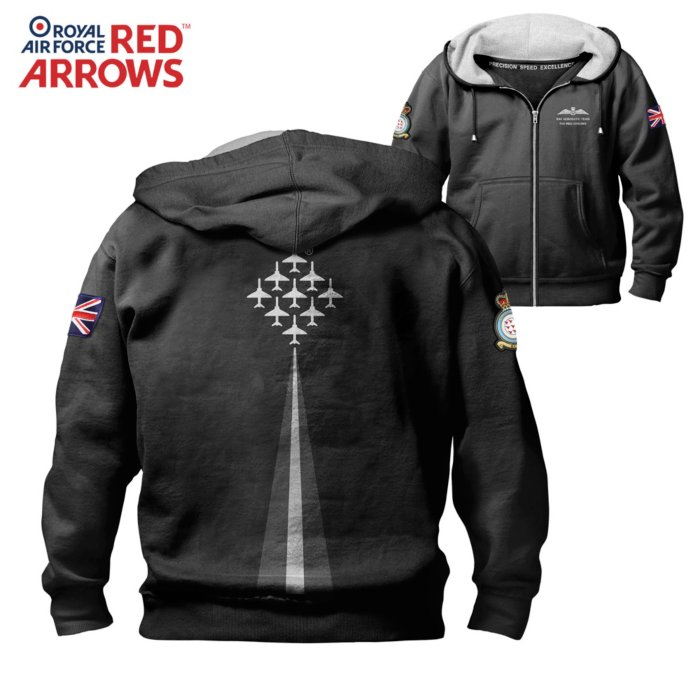 'Red Arrows' Hooded Jacket