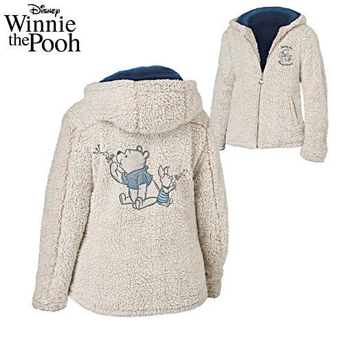 Disney Pooh And Piglet 'Friends Forever' Sherpa Fleece Jacket