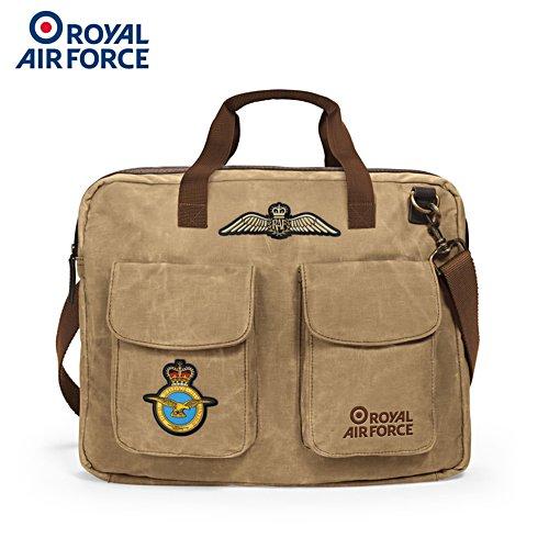RAF Canvas Messenger Bag
