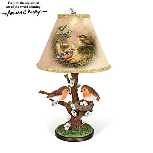 'Dawn's Bright Herald' Sculptural Tabletop Lamp