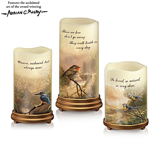 'A Love So Dear' LED Flameless Candle Set