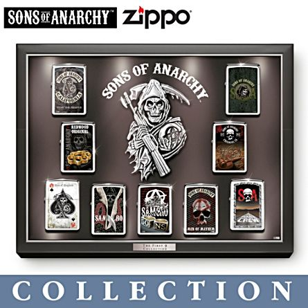 Sons of Anarchy™ The First 9 Zippo® Lighter Collection