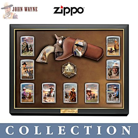 John Wayne 'Great American West' Zippo® Lighter Collection