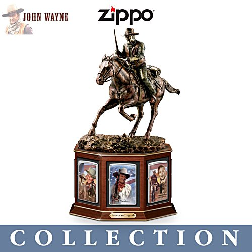 John Wayne 'American Legend' Zippo® Lighter Collection