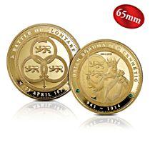 'Brian Boru High King Of Ireland' Golden Commemorative
