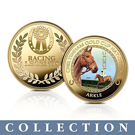 The 'Racing Legends' Horse Racing Commemorative Collection