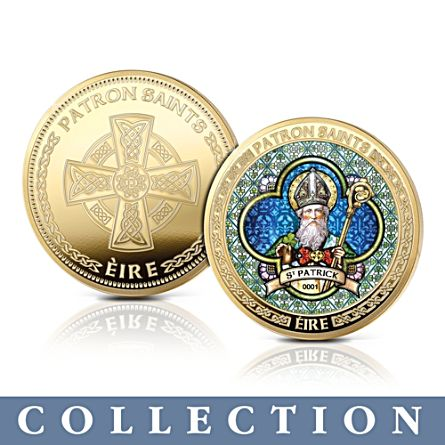 The Saints Of Ireland 'Stained Glass' Commemorative Collection