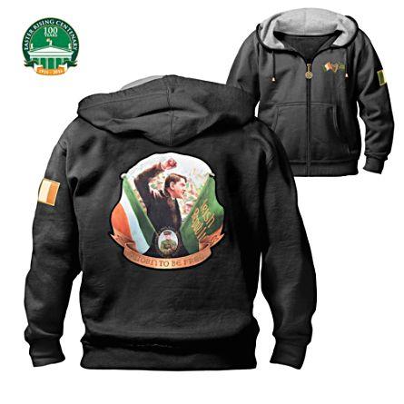 'Michael Collins' Men's Hooded Jacket
