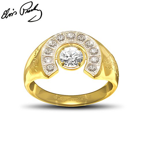 Elvis Presley™ 'Aloha' Swarovski® Crystal Ladies' Ring