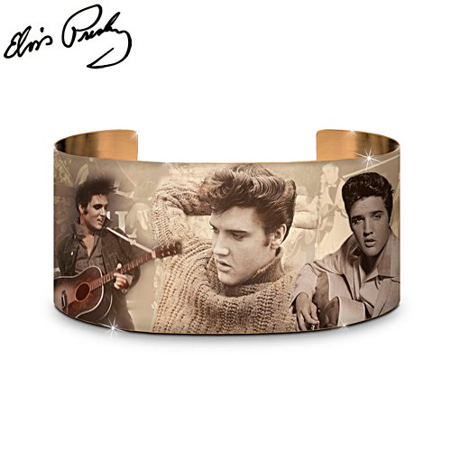 'Burning Love' Elvis™ Copper Cuff Bracelet