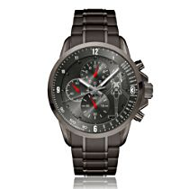 'Black Hawk Helicopter' Men's Chronograph Watch