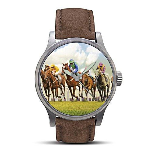 'Thoroughbred Horseracing' Men's Watch