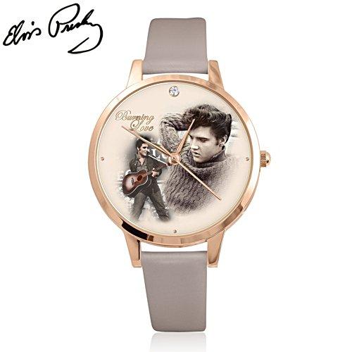 Burning Love – Armbanduhr mit Elvis Presley-Motiv
