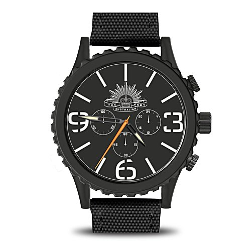 Official Australian Army Men's Stainless Steel Watch