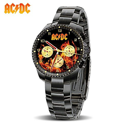 AC/DC 'Back In Black' Men's Watch