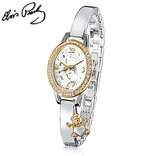 Elvis™ 'Be My Teddy' Swarovski® Watch