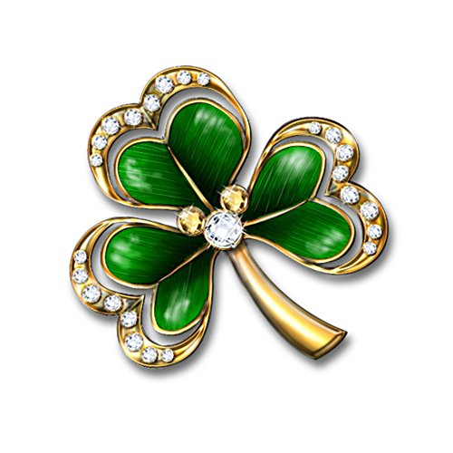 'Royal Shamrock' Brooch