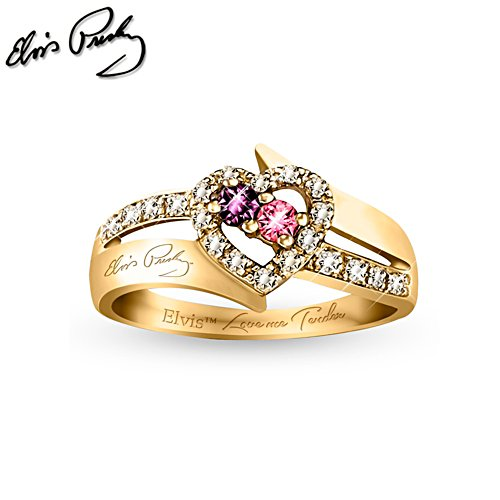 Elvis™ 'Love Me Tender' Ladies' Ring
