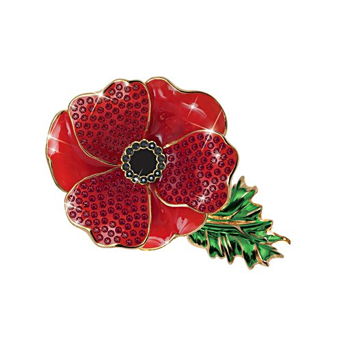 'Remembrance Poppy' Ladies' Brooch