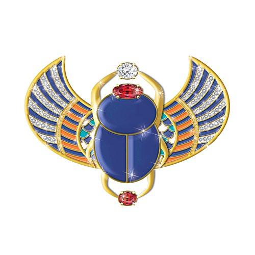 'Sacred Treasure Of Egypt' Diamonesk® Brooch