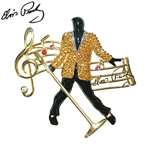 Elvis Presley™ 'Hunk Of Burning Love' Ladies' Brooch